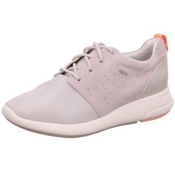 Geox Sportlicher Schnürschuh rosa