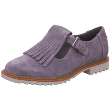 Clarks Hochfront SlipperGriffin Mia grau