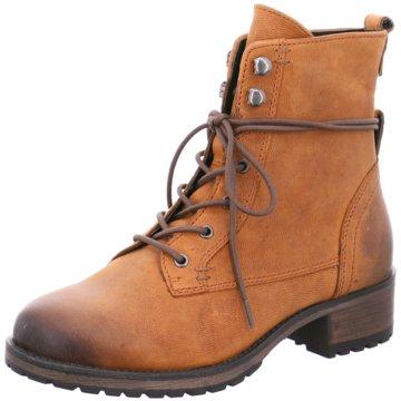 SPM Shoes & Boots Schnürboot braun