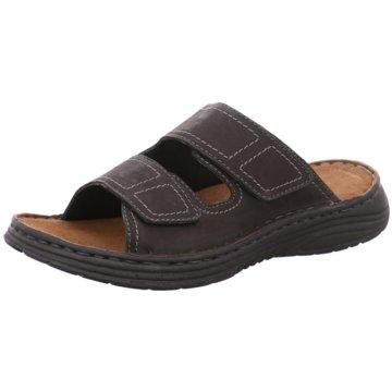 Longo Komfort Schuh schwarz