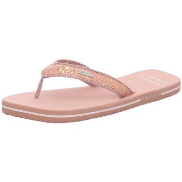 Esprit Bade- ZehentrennerGlitter Thongs rosa