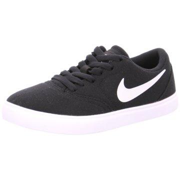 Nike Sneaker LowBoys' Nike SB Check Canvas (GS) Skateboarding Shoe - 905373-003 schwarz