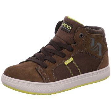 Vado Sneaker HighDeam 612 braun