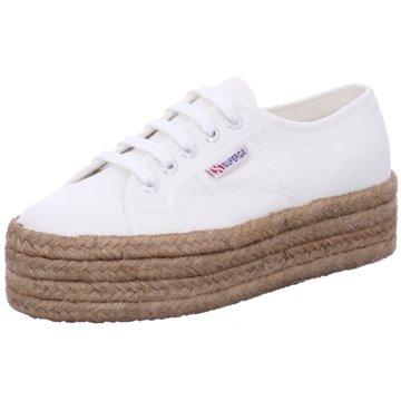 Superga Plateau SneakerCotropew weiß