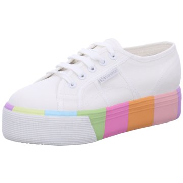 Superga Top Trends Sneaker weiß