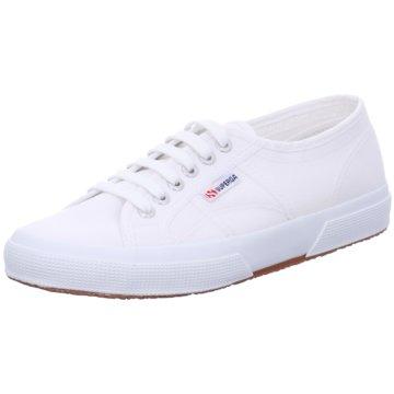 Superga Sneaker Low weiß