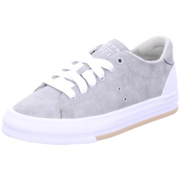 Esprit Sneaker LowSimona Lace Up grau
