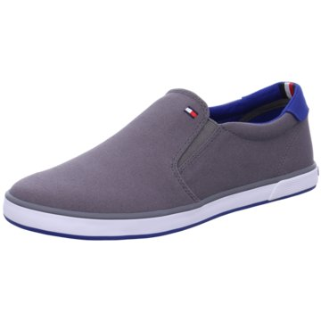 Tommy Hilfiger Denim Slipper grau