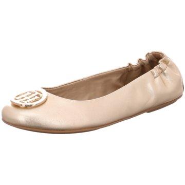 Tommy Hilfiger Klassischer Ballerina silber