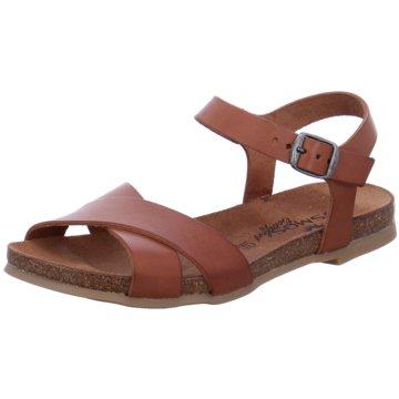 Mustang Sandale braun