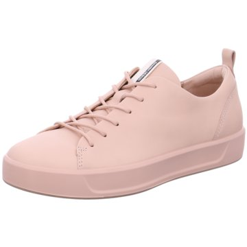 Ecco Sneaker LowECCO SOFT 8 LADIES rosa