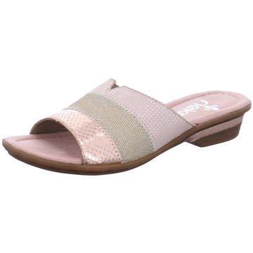Rieker Pantoletten für Damen jetzt im Online Shop kaufen   schuhe.de 7b9b740232