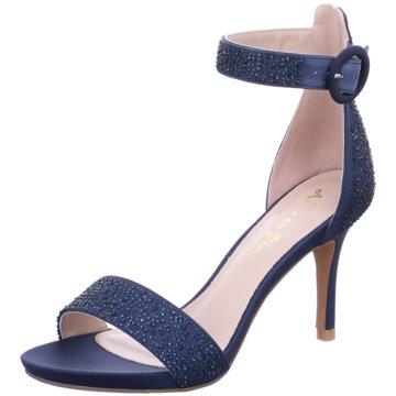 Alma en Pena Sandalette blau