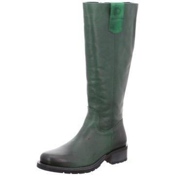 Jana Klassischer Stiefel grün
