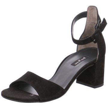 Paul Green Top Trends Sandaletten schwarz