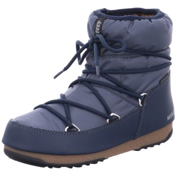 Moon Boot Winterboot blau