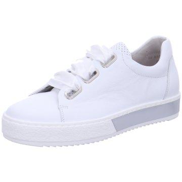 Gabor Sportlicher SchnürschuhFlorenz weiß