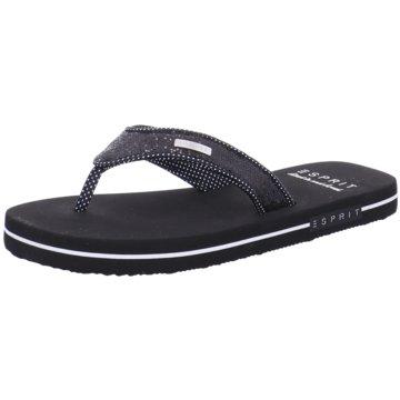 Esprit Offene Schuhe schwarz