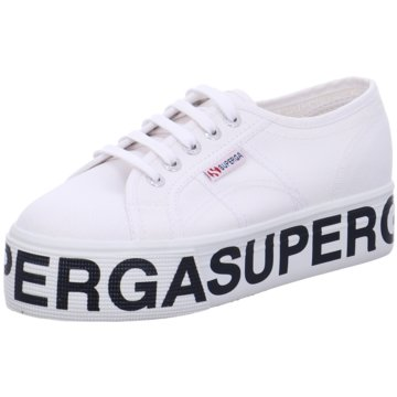 Superga Top Trends Sneaker2790 Cotw Outsole Lettering weiß