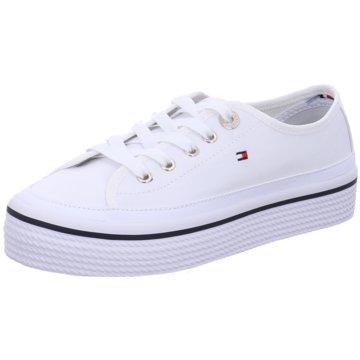 Tommy Hilfiger SneakerCorporate Flatform S weiß