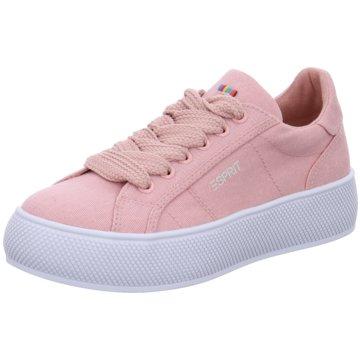 Esprit Plateau Sneaker rosa