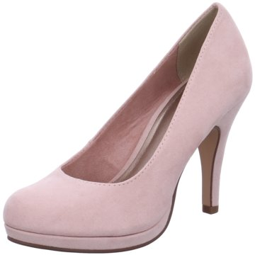 Tamaris Plateau Pumps rosa