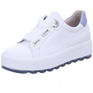 Gabor comfort Plateau SneakerFlorenz G weiß