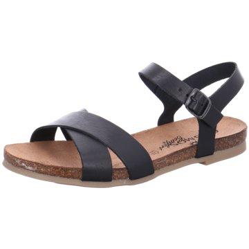 Cosmos Comfort Komfort Sandale schwarz