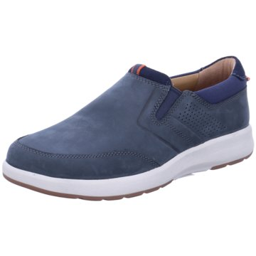 Clarks Klassischer SlipperUN TRAIL STEP blau
