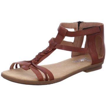 Rieker Komfort Sandale braun