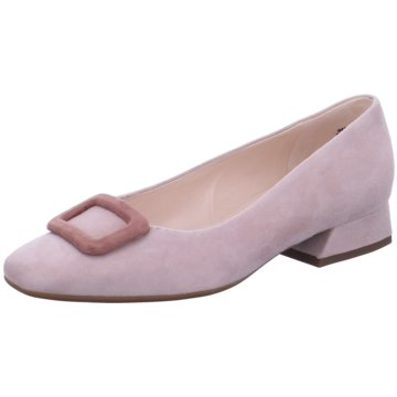 Peter Kaiser Flacher Pumps rosa