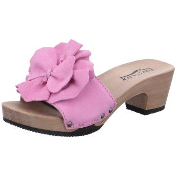 Softclox Plateau PantoletteKassandra pink
