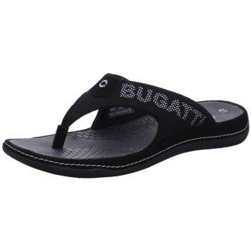 Bugatti Zehentrenner schwarz
