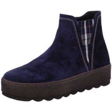 Gabor comfort Komfort Stiefelette blau