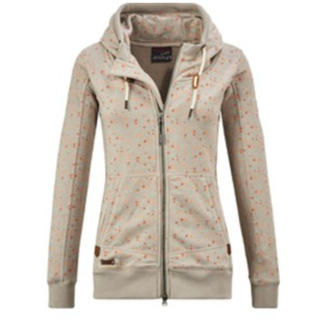 Killtec HoodiesCUSHY WMN SWEAT JCKT A - 3608000 134 beige