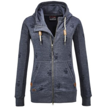 Killtec HoodiesCUSHY WMN SWEAT JCKT A - 3608000 814 blau