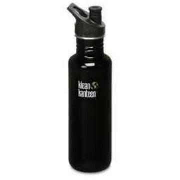 Klean Kanteen Trinkflaschen schwarz