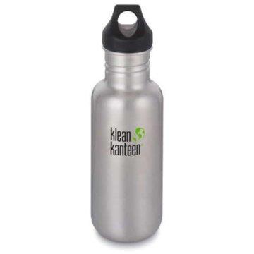Klean Kanteen Isolierflaschen silber