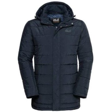 JACK WOLFSKIN WinterjackenSVALBARD COAT MEN - 1204501 blau