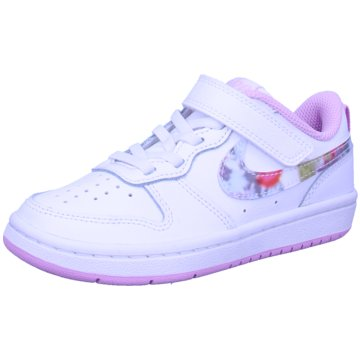 Nike Sneaker LowNike Court Borough Low 2 SE Little Kids' Shoe - CZ6613-100 weiß