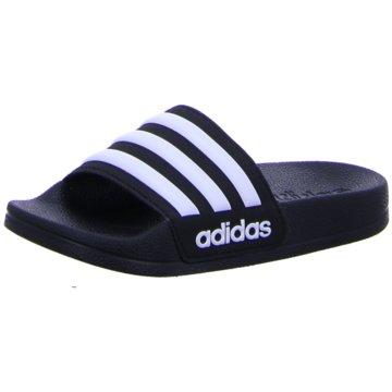 adidas Offene Schuhe schwarz