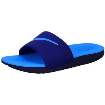 Nike Offene SchuheNike Kawa Kids' Slide - 819352-402 blau
