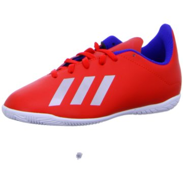 adidas Trainings- und HallenschuhX Tango 18.4 IN Fußballschuh - BB9410 rot