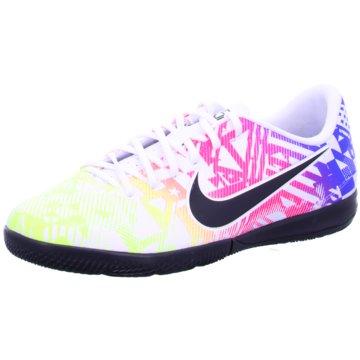 Nike Hallen-SohleNike Jr. Mercurial Vapor 13 Academy Neymar Jr. IC Kids' Indoor/Court Soccer Shoe - AT8139-104 weiß