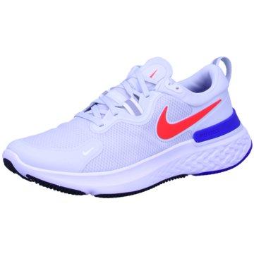 Nike Sneaker LowReact Miler - CW1777-008 weiß