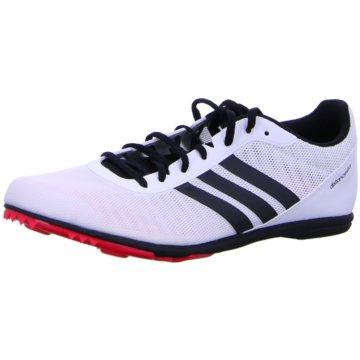 adidas SpikesDistancestar Spike Schuh - B37498 weiß