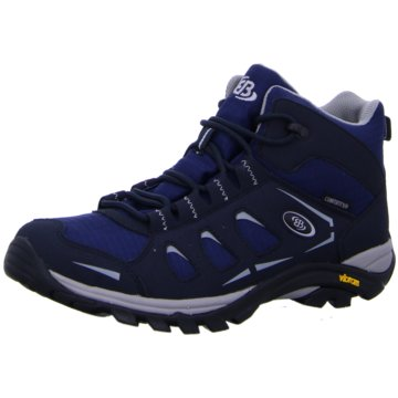 Brütting Outdoor SchuhMOUNT FRAKES HIGH blau