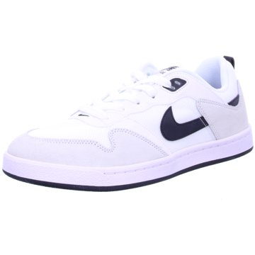 Nike Sneaker LowNike SB Alleyoop Skate Shoe - CJ0882-100 weiß