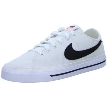 Nike Street LookCOURT LEGACY CANVAS - CW6539-101 weiß