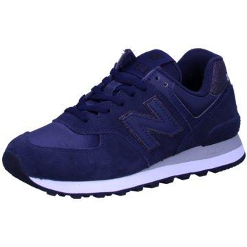 New Balance Sneaker LowWL574FA2 - WL574FA2 blau